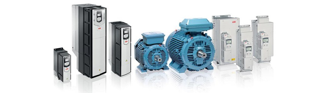 ABB SynRM Motor and Inverter Packages