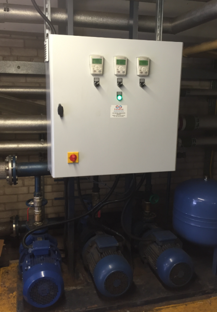 Variable-speed drives boost hotel water supply while reducing running costs