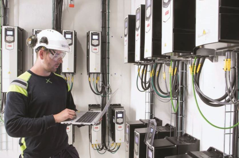 Digital remote service supports variable speed drives