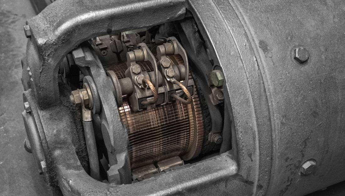 DC - AC Motor Conversion