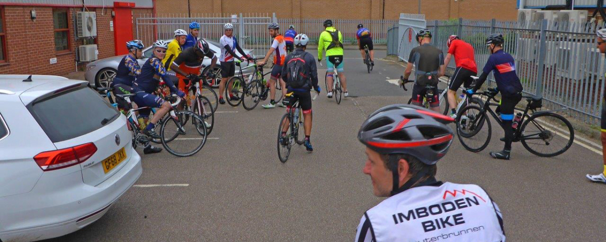 CEMA Cycle Ride from Nottingham to Skegness