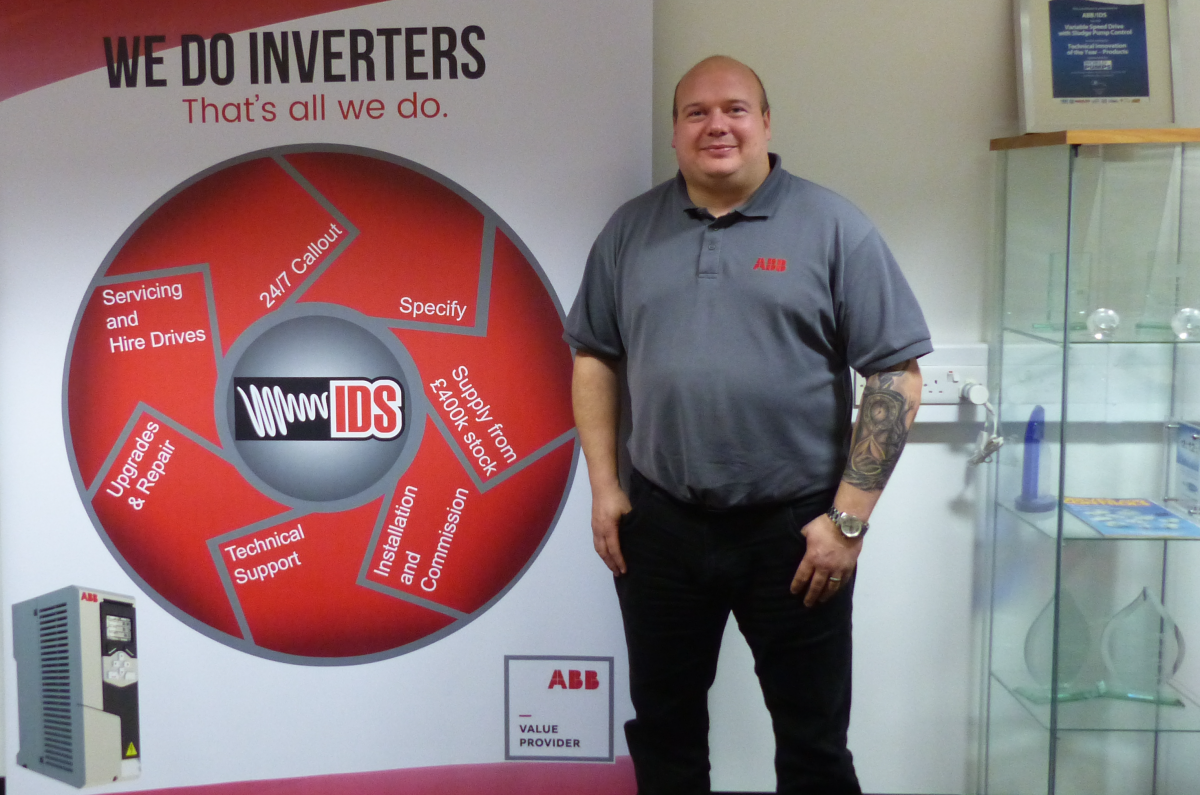 IDS Welcomes New ABB Area Sales Manager Stuart Ruskin