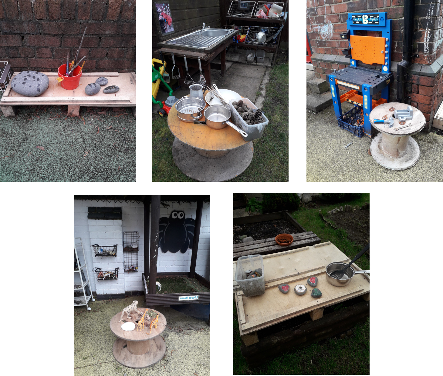Mud kitchen tables, animal pens, creativity corners and tool stations… what fabulous ways to reuse and repurpose the pallets and drums! A big thank you to those that sent us pictures of their creations – they really do look amazing and a huge well done to Wayne Draper, for thinking outside of the wooden box and making some community projects possible all the while preventing unnecessary landfill waste!