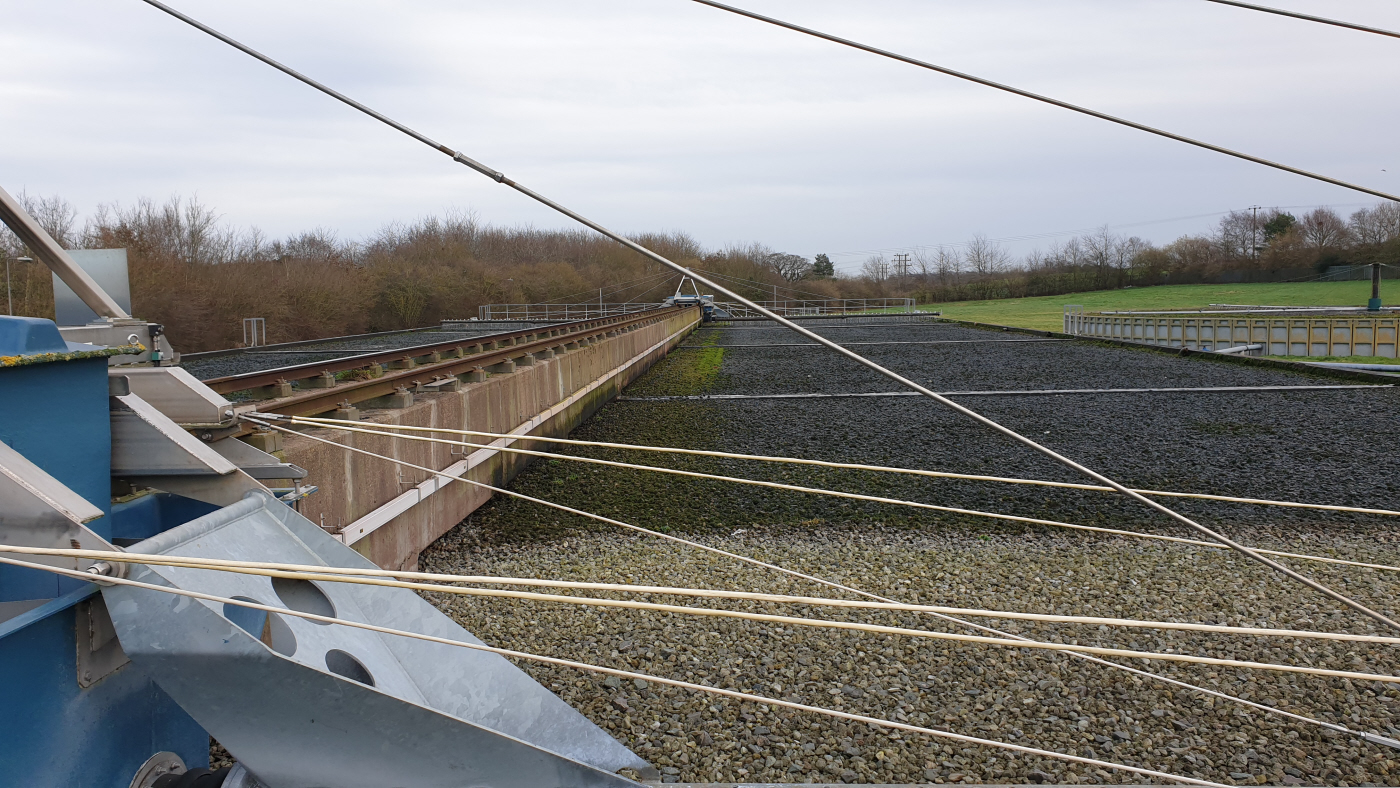 Sewage works saves energy on filter bed application 2